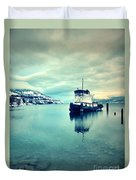 Cold Reflections Duvet Cover