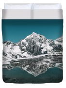 Cold Skies Duvet Cover