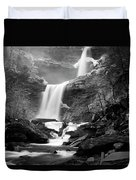 Cold Spring Morning At Kaaterskill Falls II Duvet Cover