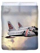 Cold War Red Bulls Duvet Cover