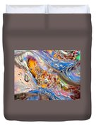 Cold Wave Duvet Cover