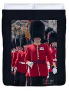 Coldstream Guards Duvet Cover