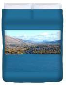 Coldstream Valley In Autumn Duvet Cover