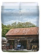 Coldwater Vintage Carriage House Duvet Cover