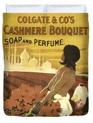 Colgate Cashmere Bouquet Advertising Poster Duvet Cover