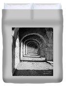 Coliseum Corridor Duvet Cover