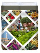 Collage Of Madeira  Duvet Cover