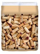 Collection Of Corks Duvet Cover