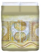 Collective Unconscious Three Equals One Equals Enlightenment Duvet Cover