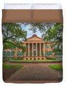 College Of Charleston Main Academic Building Duvet Cover