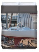 College Of Charleston Sailing Duvet Cover