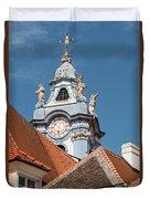 Collegiate Church Tower Duvet Cover