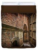 Colliding Walls Duvet Cover