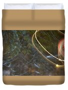 Colliding Worlds  Duvet Cover by Michael Lucarelli