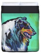 Collie Collie Duvet Cover