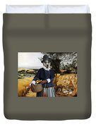 Collie Smooth - Smooth Collie Art Canvas Print - The Harvesters Duvet Cover