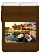 Collioure Castle Duvet Cover