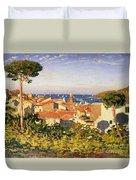 Collioure Duvet Cover by James Dickson Innes