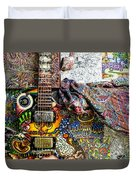 Collorfull Music Duvet Cover