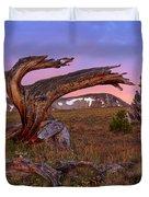 Coloful High Mountain Splendor Duvet Cover