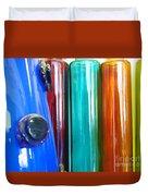 Cologne Bottles Duvet Cover