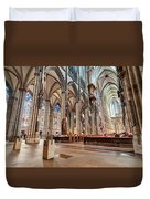 Cologne Cathedral Interior Duvet Cover