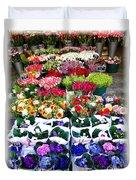 Cologne Flowers Duvet Cover