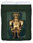 Colombia: Gold Figure Duvet Cover