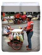 Colombia Srteet Cart Duvet Cover
