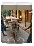 Colombia Streets II Duvet Cover