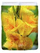 Colombian Flower Duvet Cover