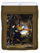 Colonel Acland And Lord Sidney Archers Duvet Cover