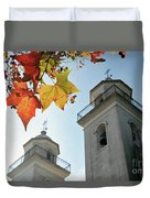 Colonia Del Sacramento Church Duvet Cover