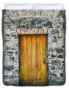 Colonia Old Door Duvet Cover