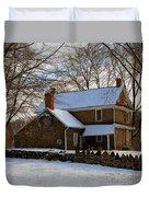 Colonial Christmas Duvet Cover