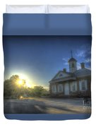 Colonial Courthouse  Duvet Cover