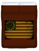 Colonial Flag Duvet Cover
