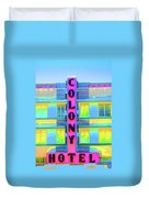 Colony Hotel Duvet Cover