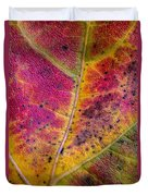 Color And Texture Duvet Cover