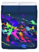 Color Chaos Duvet Cover