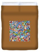 Color Circles 201810 Duvet Cover
