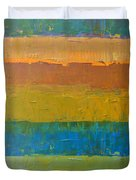 Color Collage Three Duvet Cover