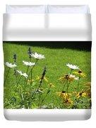 Color Combination Flowers Cc64 Duvet Cover