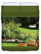 Color Combination Flowers Cc65 Duvet Cover