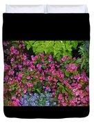 Color Combination Flowers Cc73 Duvet Cover