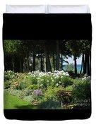 Color Combination Flowers Cc74 Duvet Cover