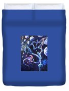 Color Creation Myth Duvet Cover