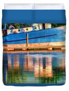 Color Dancing On Water Duvet Cover