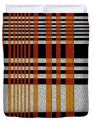 Color Grid Duvet Cover