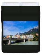 Color In Innsbruck Duvet Cover